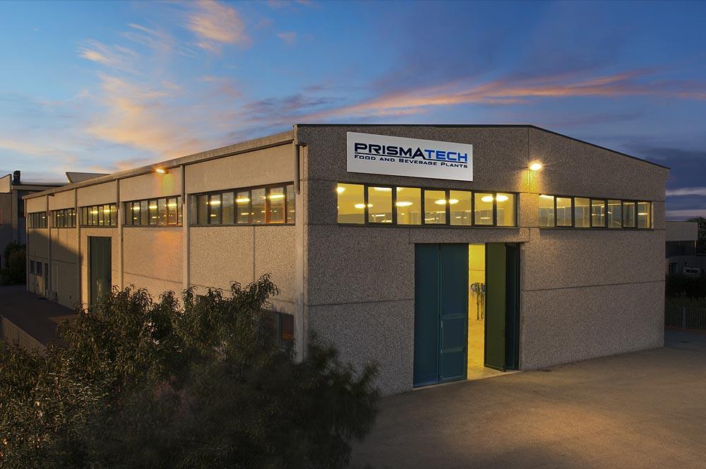 foto della sede di Prismatech